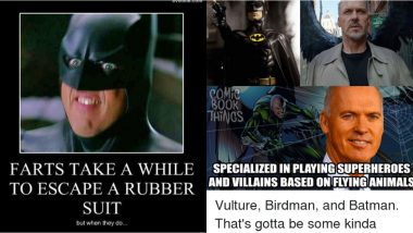 Michael Keaton Birthday: 10 Best Memes on Actor's Turn as Batman to Remind Us That It's the Best (See Pics)