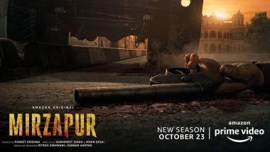 Mirzapur Season 2: Pankaj Tripathi Unveils Grim Poster of the Upcoming Web-Series