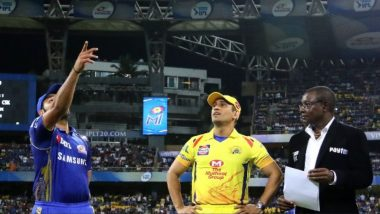 IPL 2020 Latest News Live, September 19: CSK Thank Fans For Support Ahead of Season Opener Against MI