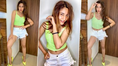 Surbhi Chandna is All things Stunning in Her Hot Pants and Crop Top (View Pics)