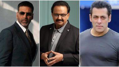 SP Balasubrahmanyam No More: Salman Khan, Akshay Kumar, Ajay Devgn and Others Mourn his Tragic Demise (View Tweets)