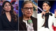Justice Ruth Bader Ginsburg Demise: Priyanka Chopra, Kareena Kapoor Khan and Others Remember the Powerful and Inspiring Icon that She Was (View Post)
