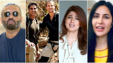 Into the Wild With Bear Grylls and Akshay Kumar: Twinkle Khanna, Katrina Kaif, Suniel Shetty – Celebs Who Made Cameos in the Episode and How They Motivated Akshay!