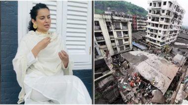 Kangana Ranaut Blames BMC for Bhiwandi Building Collapse; Twitterati Reminds Her That Bhiwandi Is Not Even in Mumbai! (View Tweets)