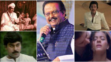 SP Balasubrahmanyam No More: 6 Beautiful Tracks Sung by the Legend for Kamal Haasan, Chiranjeevi, Kajol's Films That Won Him National Awards (Watch Videos)