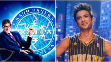 Kaun Banega Crorepati 12 Premiere: Amitabh Bachchan's Quiz Show Pays Tribute to Sushant Singh Rajput Through This Question on Dil Bechara
