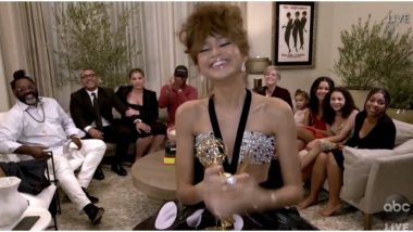 Emmys 2020: Zendaya Becomes Youngest-Ever Winner, Netizens Celebrate her Achievement (Check Out Tweets)