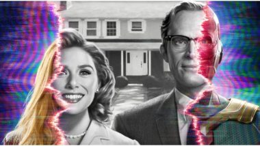 WandaVision Trailer: Elizabeth Olsen and Paul Bettany's Superheroes Struggle to Be a Usual Couple and Live an Ordinary Life (Watch Video)