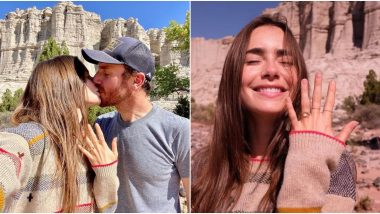 Lily Collins Is Engaged To Charlie McDowell! Actress Flaunts Her Engagement Ring And Says 'The Purest Joy I've Ever Felt' (View Pics)