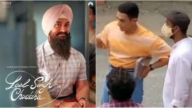Aamir Khan's New Avatar From The Sets Of Laal Singh Chaddha Goes Viral, Fans Amazed With His Younger Look (Watch Video)