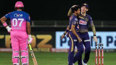 RR vs KKR Stat Highlights Dream11 IPL 2020: Kolkata Knight Riders Bowlers Set up Impressive Win