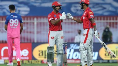 Mayank Agarwal, KL Rahul Post Highest Opening Stand for KXIP During IPL 2020 Match Against Rajasthan Royals; Twitterati All Praise for the Openers