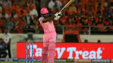 Sanju Samson Slams Joint-Fastest IPL Half-Century Against Chennai Super Kings During RR vs CSK IPL 2020 in Sharjah, Netizens Hail Rajasthan Royals Wicket-Keeper Batsman