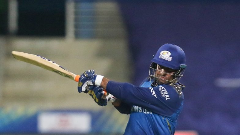 Saurabh Tiwary Slams First Six of Dream 11 IPL 2020 During MI vs CSK, Fans Hail Jharkhand Cricketer!