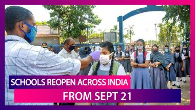 Schools Reopen Across India From September 21; Rules To Follow Before Sending Kids To Classes Amid Coronavirus Pandemic