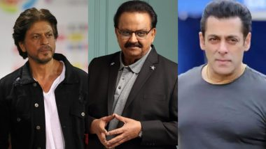 SP Balasubrahmanyam No More: Shah Rukh Khan, Salman Khan, Akshay Kumar and Others Mourn his Tragic Demise (View Tweets)