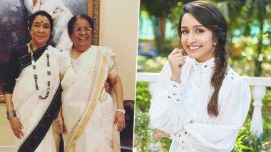 Shraddha Kapoor Wishes Her 'Ajjis' Asha Bhosle and Meena Khadikar On Their Birthdays (View Post)