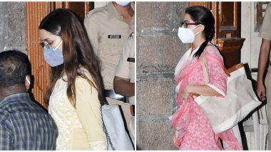 Bollywood Drug Probe: Sara Ali Khan and Shraddha Kapoor Leave NCB Office (See Pics)