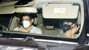 Sidharth Malhotra and Kiara Advani Go Out on a Drive Together Sparking Dating Rumours Once Again (See Pics)