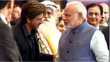 Shah Rukh Khan Wishes PM Narendra Modi on His 70th Birthday With a Sweet and Simple Tweet
