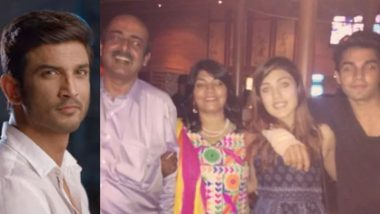 Rhea Chakraborty's Father Retd Lt Col Indrajit Reacts to Son Showik's Arrest by NCB: 'Congrats India, You Have Effectively Demolished a Middle-Class Family'