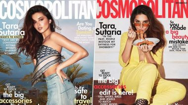 Eat, Slay, Love - That Seems to be the Idea Behind Tara Sutaria's New Photoshoot for Cosmopolitan India (View Pics)