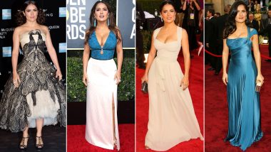Salma Hayek Birthday Special: Bold, Beautiful and Breathtaking - Some Words that Describe her Fashion Endeavours (View Pics)