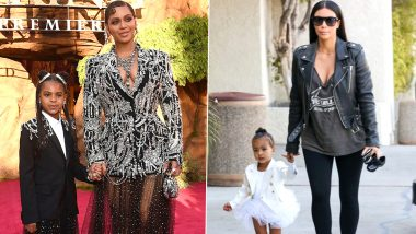 National Daughter's Day 2020: From Kim Kardashian - North West to Beyonce - Blue Ivy Carter, a Look at Hollywood's Most Stylish Mother-Daughter Duos (View Pics)