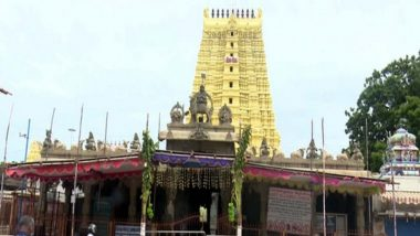 Hyderabad Devotee Offers Rs 1 Crore Sword Weighing About 5 kg to Lord Balaji in Tirumala Hills