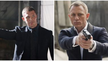 Tom Hardy Replacing Daniel Craig as James Bond After No Time to Die?