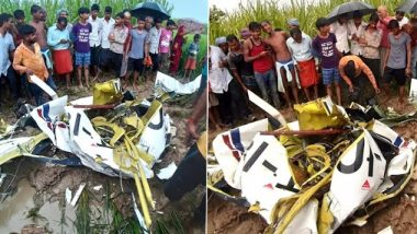 Plane Crash in Uttar Pradesh: TB 20 Aircraft Crashes in Azamgarh, Pilot Dies; Here's What We Know So Far