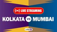 KKR vs MI, IPL 2020 Live Cricket Streaming: Watch Free Telecast of Kolkata Knight Riders vs Mumbai Indians on Star Sports and Disney+Hotstar Online