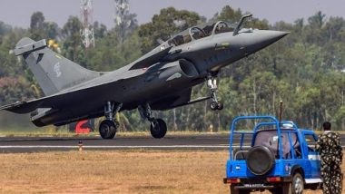 Rafale Aircraft to be Formally Inducted Into Golden Arrows Squadron of Indian Air Force at IAF Station in Haryana on September 10; Know More About The Squadron