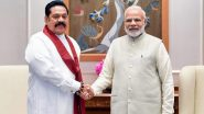 PM Narendra Modi Responds to Sri Lankan PM Mahinda Rajapaksa's Tweet on Bilateral Summit, Says 'We Must Explore Ways to Further Enhance Cooperation in Post-COVID Era'