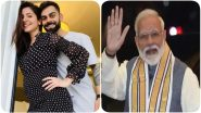 PM Narendra Modi Thanks Virat Kohli For Birthday Wishes, Says 'You and Anushka Sharma Will Be Amazing Parents'