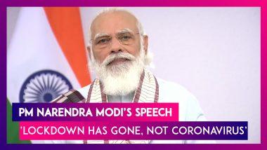 Narendra Modi Speech Highlights: Prime Minister Says 'Jab Tak Dawai Nahi, Tab Tak Dhilai Nahi'