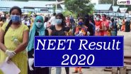 NEET Results 2020: NTA Refutes Reports of 'Blunder', to File FIR Against Those Circulating Wrong Information