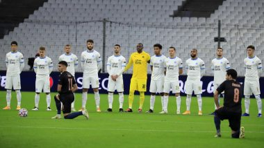 Marseille vs Manchester City UCL Game Sends Shockwaves Among Netizens, After France Ligue 1 Side Failed to Honour #BlackLivesMatter Campaign (Read Tweets)