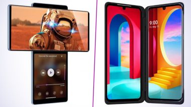 LG Wing & LG Velvet Dual Screen Smartphones Launched, India Prices Start From Rs 36,990