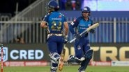 Rajasthan Royals vs Mumbai Indians, IPL 2020 Toss Report and Playing XI Update: Rohit Sharma-Less MI Opt to Bat As James Pattinson Returns