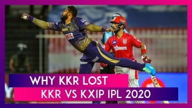 Kolkata vs Punjab IPL 2020: 3 Reasons Why Kolkata Lost To Punjab