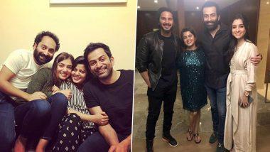 Prithviraj Sukumaran Turns 38! Nazriya Nazim and Dulquer Salmaan Share Heartfelt Birthday Posts For The Mollywood Hunk!