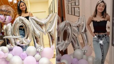 Hina Khan Clocks 10 Million Followers on Instagram, Celebrates in Style (View Post)