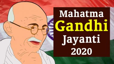 Mahatma Gandhi Jayanti 2020 Wishes, Messages and Images Take Over Social Media, Netizens Remember the Father of the Nation With Heartfelt Greetings and Inspiring Quotes