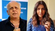 Mahesh Bhatt Rubbishes Luviena Lodh's Harassment Allegations, Issues Statement and Reveals He Will Take Legal Action