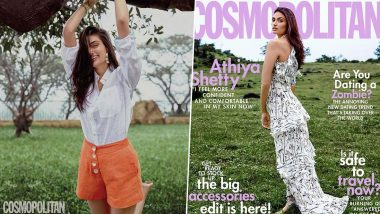 Athiya Shetty Exuding all Happy and Carefree Vibes in her New Photoshoot for Cosmopolitan India