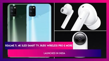 Realme 7i, Smart Cam 360, 4K SLED Smart TV, N1 Sonic Electric Toothbrush Launched in India; Prices, Features & Other Details