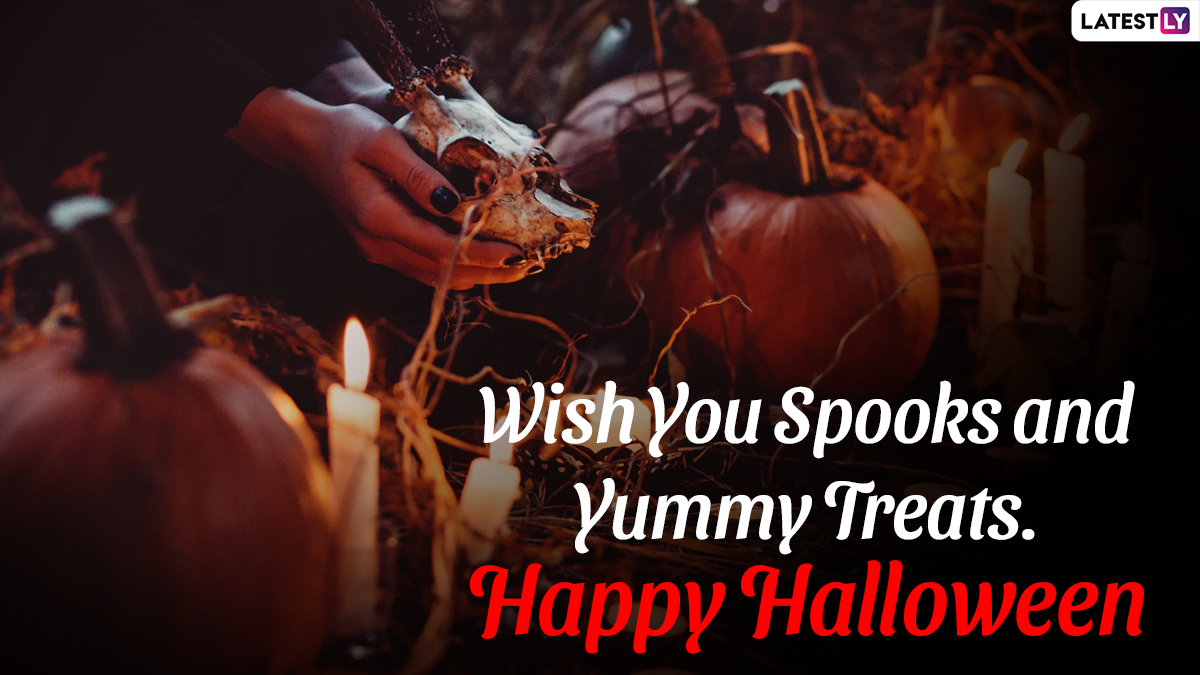 Halloween 2020 Greeting Cards, Wishes & Spooktacular HD Images: Send These  GIFs, Quotes & Messages to Your Loved Ones on October 31   🙏🏻 LatestLY
