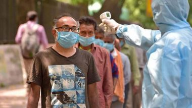 India Reports 61,871 COVID-19 Cases, 1,033 Deaths in Single Day; Coronavirus Tally Inches Closer to 75 Lakh-Mark