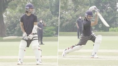Jersey: Shahid Kapoor Is Mastering the Cover Drive Shot with Early Morning Practise (Watch Video)